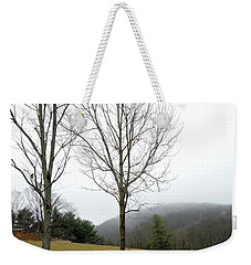 December Mist Weekender Tote Bag
