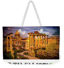 December,2017 Where In The World Contest. Weekender Tote Bag