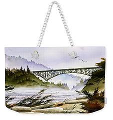 Deception Pass Bridge Weekender Tote Bag