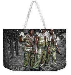 Weekender Tote Bag featuring the photograph Decisive Moment  ... by Chuck Caramella