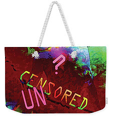 Decisions No. 2 Weekender Tote Bag by Paula Ayers
