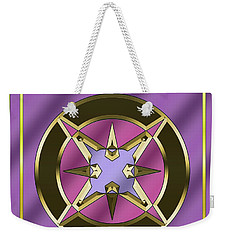 Weekender Tote Bag featuring the digital art Deco 25 - Chuck Staley by Chuck Staley