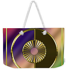 Weekender Tote Bag featuring the digital art Deco 27 - Chuck Staley by Chuck Staley
