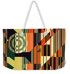 Deco Abstract 1  Weekender Tote Bag