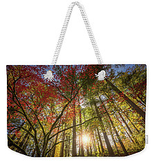 Decorated By Japanese Maple Weekender Tote Bag