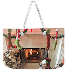 Decorated For The Holidays Weekender Tote Bag
