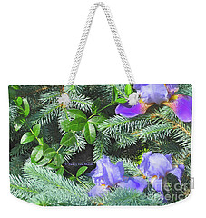 Weekender Tote Bag featuring the photograph Decorating For Spring by Nancy Lee Moran