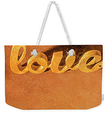Weekender Tote Bag featuring the photograph Decorating Love by Jorgo Photography - Wall Art Gallery