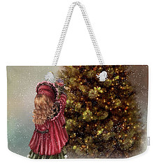 Decorating Tree Weekender Tote Bag by Mary Timman