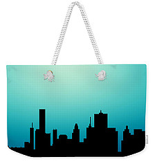 Decorative Abstract Skyline Houston R1115a Weekender Tote Bag