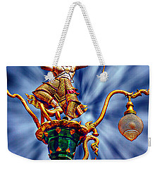 Decorative City Lamp Post Khon Kaen-thailand Weekender Tote Bag by Ian Gledhill