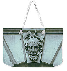 Decorative Keystone Architecture Details A Weekender Tote Bag
