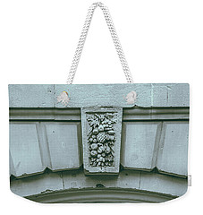 Weekender Tote Bag featuring the photograph Decorative Keystone Architecture Details L by Jacek Wojnarowski