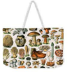 Decorative Print Of Champignons By Demoulin Weekender Tote Bag by American School