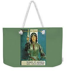 Dedicated To The Women Weekender Tote Bag