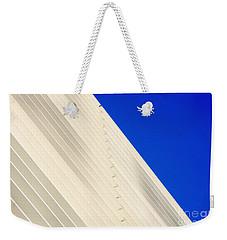 Deep Blue Sky And Office Building Wall Weekender Tote Bag