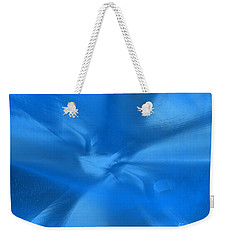 Deep Blue Weekender Tote Bag