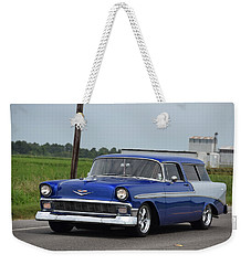 Weekender Tote Bag featuring the photograph Deep Cajun Heavy Chevy by John Glass