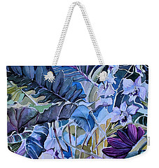 Weekender Tote Bag featuring the painting Deep Dreams by Mindy Newman