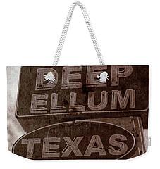 Deep Ellum Texas Weekender Tote Bag by Jonathan Davison