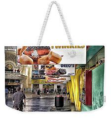 Deep Fried Twinkies Weekender Tote Bag by Walt Foegelle