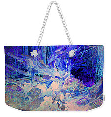 Weekender Tote Bag featuring the photograph Deep In The Forest by Joyce Dickens