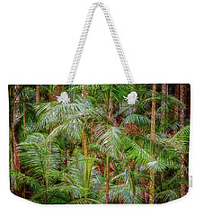 Weekender Tote Bag featuring the photograph Deep In The Forest, Tamborine Mountain by Dave Catley