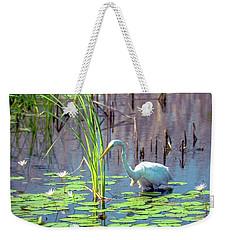 Deep In The Water Weekender Tote Bag