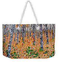 Deep In The Woods- Large Work Weekender Tote Bag