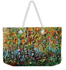 Deep In The Woods Weekender Tote Bag