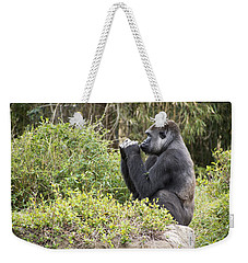 Deep In Thought Weekender Tote Bag by Ricky Dean