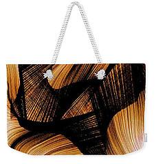 Weekender Tote Bag featuring the digital art Deep Inside by Rafael Salazar