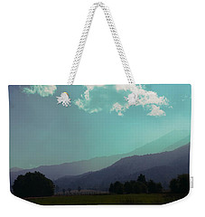Weekender Tote Bag featuring the photograph Deep Layers by Ivana Westin