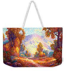 Radiant Peace, Colors Of Fall Weekender Tote Bag