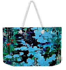 Deep Pool  Weekender Tote Bag
