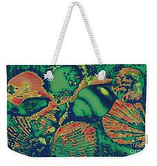 Deep Sea Journey Weekender Tote Bag by Rachel Hannah