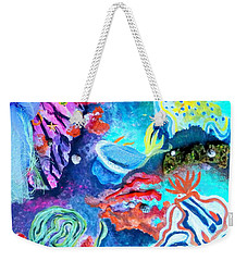 Deep Sea Nudibranch Weekender Tote Bag