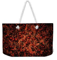 Deep Secret Roses Weekender Tote Bag