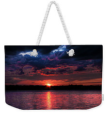 Weekender Tote Bag featuring the photograph Deep Sky by Michaela Preston