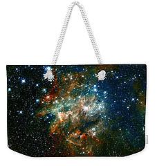 Deep Space Star Cluster Weekender Tote Bag