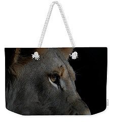 Weekender Tote Bag featuring the digital art Deep Thought by Ernie Echols
