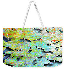 Weekender Tote Bag featuring the mixed media Deep by Tony Rubino