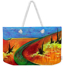 Deeper Than It Seems Weekender Tote Bag by Elizabeth Fontaine-Barr
