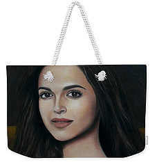 Deepika Padukone - The Enigmatic Expression Weekender Tote Bag