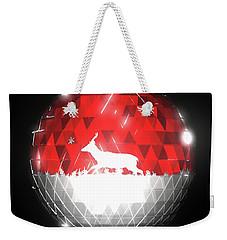 Deer Bauble - Frame 10 Weekender Tote Bag