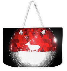 Deer Bauble - Frame 103 Weekender Tote Bag