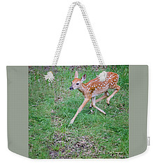Deer Dance Weekender Tote Bag
