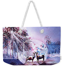 Deer Enchantment Weekender Tote Bag