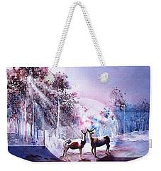 Deer Enchantment Weekender Tote Bag