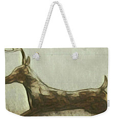 Deer Energy Weekender Tote Bag
